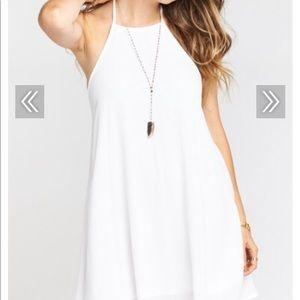 Show Me Your Mumu mini halter dress